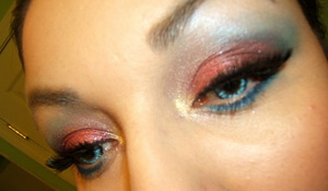 wearing contacts by Pinky Paradise