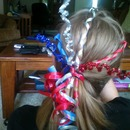 4Th Of July Fireworks Hair