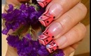 Pink, Nail Art Design Tutorial + Bornprettystore.com Product Review - ♥ MyDesigns4You ♥