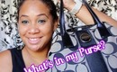 What's in my purse... the summer edition