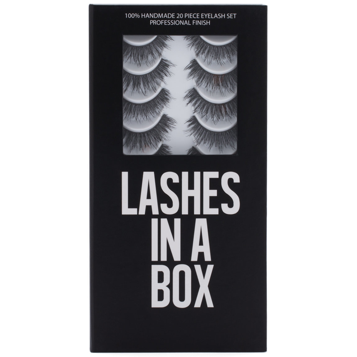 LASHES IN A BOX E1 product smear.