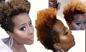NATURAL HAIR TUTORIAL | How I Rejuvinate my hair in the morning | Darbiedaymua