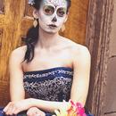 Springtime Sugar Skull