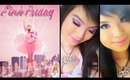 NICKI MINAJ ♡ Pink Friday Fragrance Ad Inspired Makeup