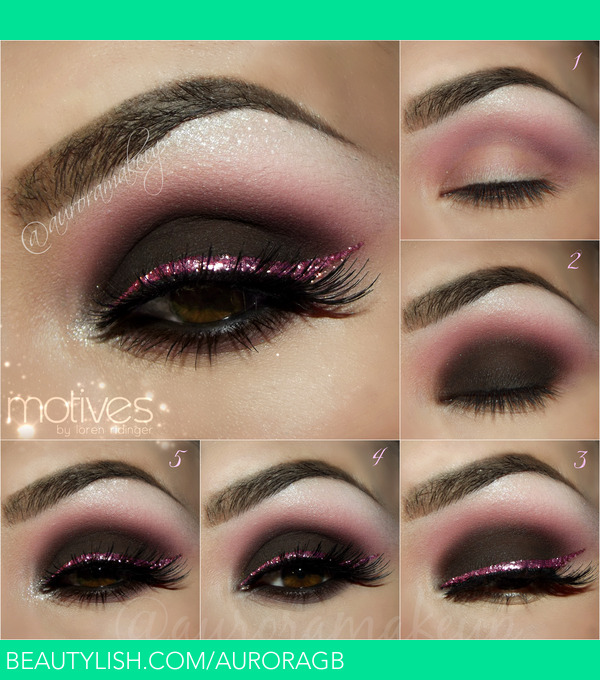 Pictorial Smokey Eye In Pink Auroramakeup A S