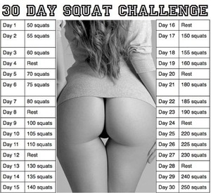 I might start this at the beginning of the month. But I love doing the Brazilian Butt Workout :)