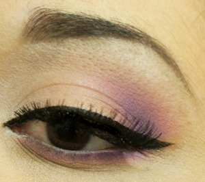 Using my Inglot Rainbow Eyeshadow Palette