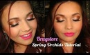 Drugstore Spring Orchids Tutorial