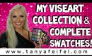 My Viseart Collection! | 8 Palettes | Full Swatches | Tanya Feifel-Rhodes