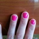 Pink Gel Mani