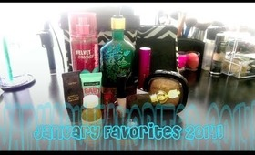 January Favorites 2014 + New Background!