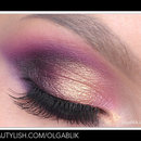 Pink and Gold Eyes Make Up / Maquillaje Rosa y Dorado para Ojos