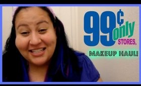 99 Cent Store Only Drugstore Makeup Haul