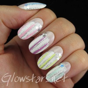 Read the blog post at http://glowstars.net/lacquer-obsession/2014/10/pastel-stripes-on-clouds/