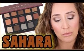 ALTER EGO SAHARA PALETTE REVIEW + GIVEAWAY!!!!