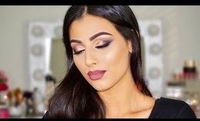 GET THE LOOK   PURPLE GOLD EYE   NEW YEAR'S EVE MAKEUP   Collab W/Alice's Beauty Madness