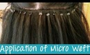 Micro Weft Hair Extensions - Application | Instant Beauty ♡