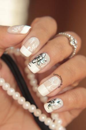http://www.estilopropriobysir.com/2014/08/nail-art-tule-ilusion.html http://instagram.com/sicaramos https://www.facebook.com/EstiloProprioBySir/