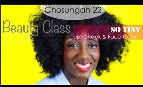How To Wear  Chosungah 22 So Tiny Face Lip and Cheek Color