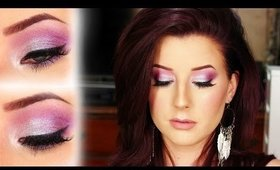Bright Spring Summer Makeup Tutorial ft Makeup Geek Foiled Shadows