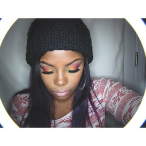 All colors are from the coastal scents creative me palette