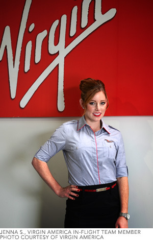 how to become a virgin america flight attendant
