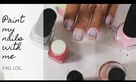 Paint My Nails With Me: FAIL | yukieloves // warmvanillasugar0823