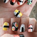 Sushi Nails <3