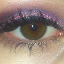 purple New Year's Eve eye