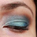 Blue Daytime Smoky Eye
