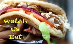 EAT WITH US ARBY'S | Turkey Gyro Signature Sandwiches REVIEW