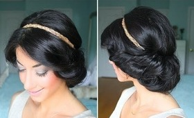 Cute & Easy Spring Up-Do
