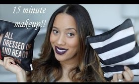 Quick 15 Minute Makeup | Talk Through