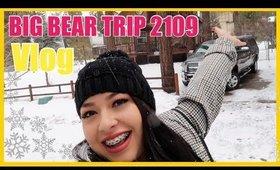 BIG BEAR VLOG (CABIN TOUR, SNOW)