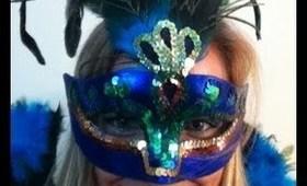 Peacock Halloween Tutorial - Makeup & Costume