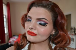 Violet Chachki Inspired Makeup