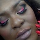 Bold Valentine's Day Makeup