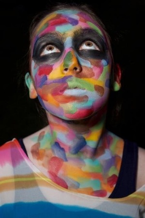 This was my first face paint from 3 years ago