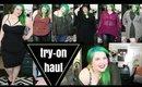 CITY CHIC SALE Plus Size Fashion Try On Haul   Plus Size LBD