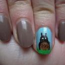 Totoro nail