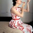 1950S Makeup Domestic Shoot