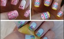 Easter Nail Art ♥ Three Cute & Easy Tutorials!!!