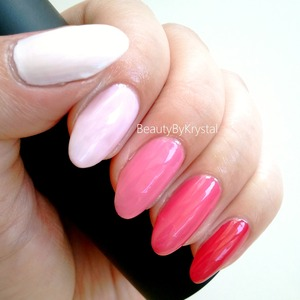 Polishes Used: http://www.beautybykrystal.com/2013/04/ombre-skittle-nails-with-elf-polishes.html