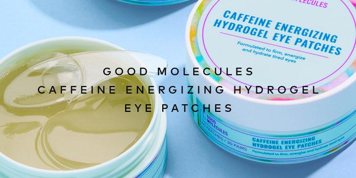 Shop Good Molecules Caffeine Energizing Hydrogel Eye Patches on Beautylish.com