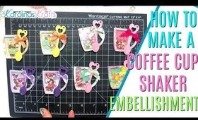 Coffee Cup Shakers Process Video, KScraft coffee cup shaker die, Paper Crafts Project Share