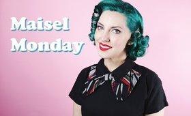 MAISEL MONDAY | 1950s Midge Maisel Hair Tutorial