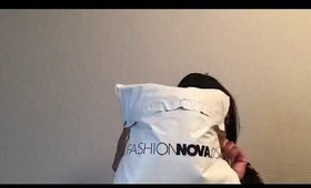 Very Small Fashion Nova Haul