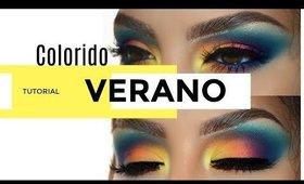 Maquillaje LLENO DE COLOR tutorial   auroramakeup