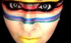 MBACosmetics editorial makeup IMATS loliloooo