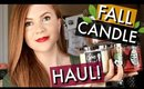 BATH & BODY WORKS FALL CANDLE HAUL | Kristen Kelley